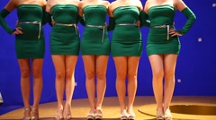 Female Sexy Legs Stock Footage