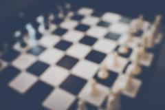 Blurred Chess Table with Instagram Style Filter Kuvituskuvat