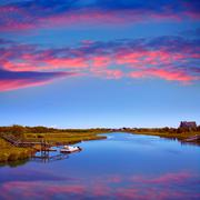 Cape Cod Bumps river Massachusetts - stock photo