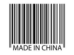 Bar code - Made In China Stock Photos