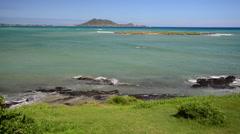 Scenic seascape Hawaii - stock footage