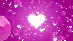 Heart  Symbol Of Love Stock Footage