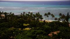Hawaii paradise resort Stock Footage