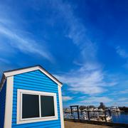 Stock Photo of Cape Cod Provincetown port Massachusetts US
