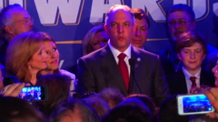 John Bel-Edwards (D) Speech Stock Footage