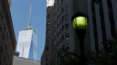 4K One World Trade Center, Freedom Tower Stock Footage