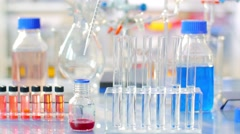 Science Chemical Laboratory, Chemical Substance Stock Footage