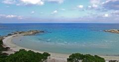 The karidi beach in Vourvourou Chalkidiki, Greece Stock Footage