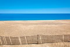 Cape Cod Sandy Neck Beach Massachusetts US - stock photo