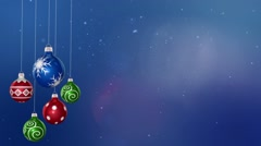 Merry Christmas Backgrounds Stock Footage