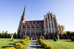 Catholic Church. Belarus Stock Photos