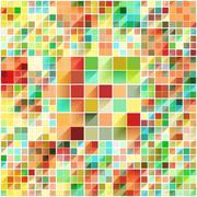 Beautiful colorful grid - stock illustration