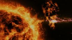 Sun - solar flare Arkistovideo