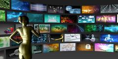 Video Streaming Stock Illustration