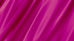 Rose Silk Curtain_Cloth and Fabric Background - stock footage