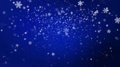 Christmas Snow Stock Footage