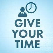 Composite image of give your time - stock illustration
