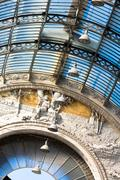 Gallery Umberto I, Naples , Italy Stock Photos