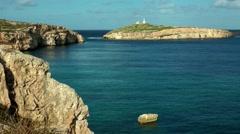 Malta, St. Paul´s Island Stock Footage