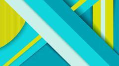 Geometry background, material design concept - stock illustration
