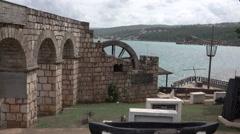 Falmouth Jamaica Caribbean Columbus Park HD Stock Footage