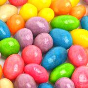 Multycolored sweet bright dragee background Stock Photos