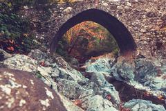 Bridge in Cyprus - stock photo