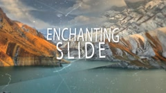 Enchanting Slide - stock after effects