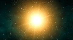 Galaxy Sunshine (60fps) Stock Footage