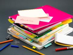 The Pile of Business Documents; Tactics Stock Photos