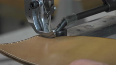 Trunk Maker at work in his workshop Stock Footage