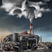 Toxic Smoke Stock Illustration