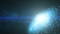 Galactic Center Flare (60fps) Stock Footage