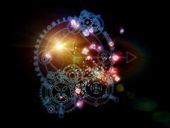Astrological Calculus - stock illustration