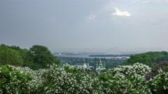 Botanical garden in Kyiv 4K - stock footage