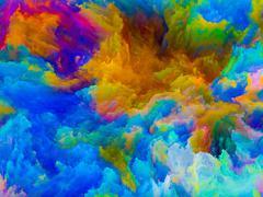 Colors Arrangement - stock illustration