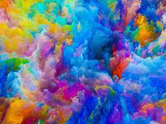 Colors Acceleration Stock Illustration