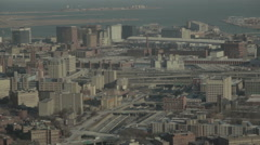 Boston Skyline Stock Footage