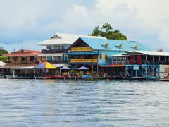 Bocas del Toro town Stock Photos