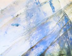 background from moonstone (adularia) gem stone - stock photo