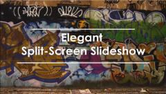 Elegant Split - Screen Slideshow - stock after effects
