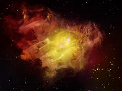 Stock Illustration of Metaphorical Dream Space