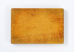 Stock Photo of old rectangular wooden chopping board