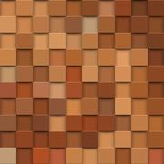 Square mosaic 3d. Vintage colorful texture. Vector illustration Stock Illustration