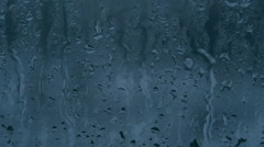 Raindrops on a Window Glass HD Pro Stock Footage