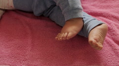 Baby sweet foots  Stock Footage