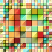 Beautiful colorful grid Stock Illustration