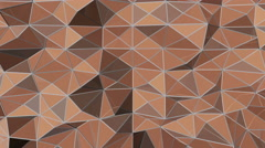 Abstract Triangular Background - stock footage