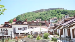 View at the Prizren. Prizren is a historic city located in Kosovo Stock Footage