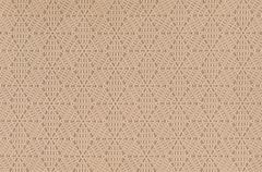Beige leather texture with decorative pattern as background - stock photo